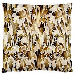 Floral Vintage Pattern Background Standard Flano Cushion Case (two Sides)