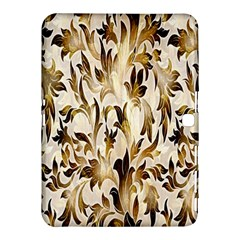 Floral Vintage Pattern Background Samsung Galaxy Tab 4 (10.1 ) Hardshell Case