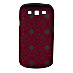 Blue Hot Pink Pattern With Woody Circles Samsung Galaxy S III Classic Hardshell Case (PC+Silicone)