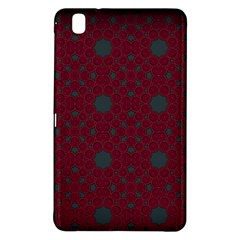Blue Hot Pink Pattern With Woody Circles Samsung Galaxy Tab Pro 8.4 Hardshell Case