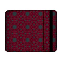Blue Hot Pink Pattern With Woody Circles Samsung Galaxy Tab Pro 8.4  Flip Case