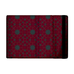 Blue Hot Pink Pattern With Woody Circles iPad Mini 2 Flip Cases