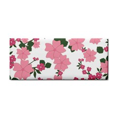 Vintage Floral Wallpaper Background In Shades Of Pink Cosmetic Storage Cases