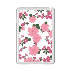 Vintage Floral Wallpaper Background In Shades Of Pink iPad Mini 2 Enamel Coated Cases