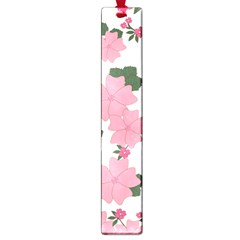 Vintage Floral Wallpaper Background In Shades Of Pink Large Book Marks