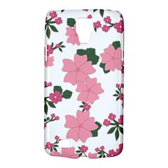 Vintage Floral Wallpaper Background In Shades Of Pink Galaxy S4 Active