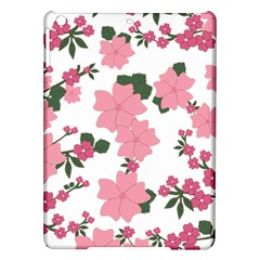 Vintage Floral Wallpaper Background In Shades Of Pink iPad Air Hardshell Cases
