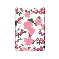 Vintage Floral Wallpaper Background In Shades Of Pink iPad Mini 2 Hardshell Cases