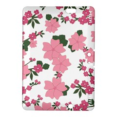 Vintage Floral Wallpaper Background In Shades Of Pink Kindle Fire HDX 8.9  Hardshell Case