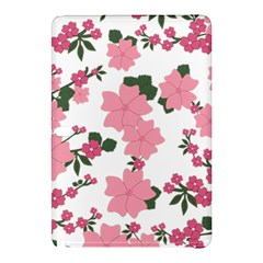 Vintage Floral Wallpaper Background In Shades Of Pink Samsung Galaxy Tab Pro 12.2 Hardshell Case