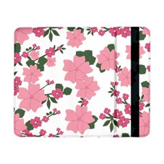 Vintage Floral Wallpaper Background In Shades Of Pink Samsung Galaxy Tab Pro 8.4  Flip Case