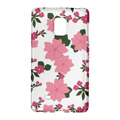 Vintage Floral Wallpaper Background In Shades Of Pink Galaxy Note Edge
