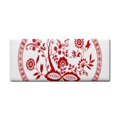 Red Vintage Floral Flowers Decorative Pattern Cosmetic Storage Cases