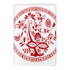 Red Vintage Floral Flowers Decorative Pattern Samsung Galaxy Tab Pro 10.1 Hardshell Case