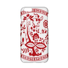 Red Vintage Floral Flowers Decorative Pattern Apple iPhone 6/6S Hardshell Case
