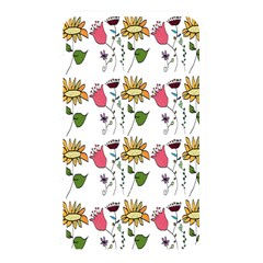 Handmade Pattern With Crazy Flowers Memory Card Reader