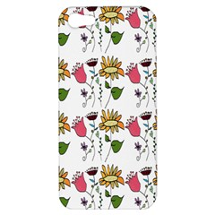 Handmade Pattern With Crazy Flowers Apple iPhone 5 Hardshell Case