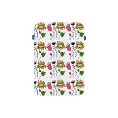 Handmade Pattern With Crazy Flowers Apple iPad Mini Protective Soft Cases