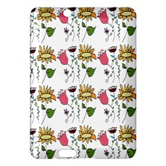 Handmade Pattern With Crazy Flowers Kindle Fire HDX Hardshell Case
