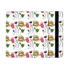 Handmade Pattern With Crazy Flowers Samsung Galaxy Tab Pro 8.4  Flip Case