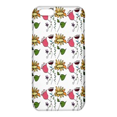 Handmade Pattern With Crazy Flowers iPhone 6/6S TPU Case