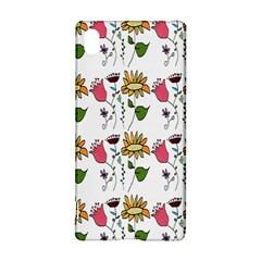 Handmade Pattern With Crazy Flowers Sony Xperia Z3+