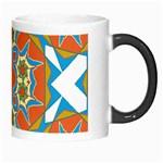 Digital Computer Graphic Geometric Kaleidoscope Morph Mugs Right