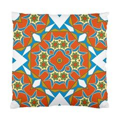 Digital Computer Graphic Geometric Kaleidoscope Standard Cushion Case (One Side)