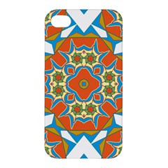 Digital Computer Graphic Geometric Kaleidoscope Apple iPhone 4/4S Hardshell Case