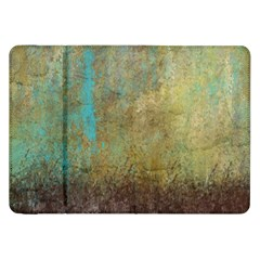 Aqua Textured Abstract Samsung Galaxy Tab 8.9  P7300 Flip Case