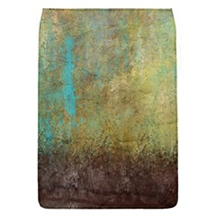Aqua Textured Abstract Flap Covers (S)
