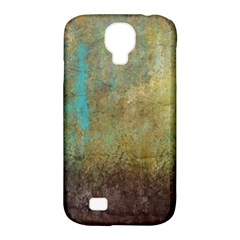 Aqua Textured Abstract Samsung Galaxy S4 Classic Hardshell Case (PC+Silicone)