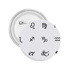 Set Of Black Web Dings On White Background Abstract Symbols 2 25  Buttons
