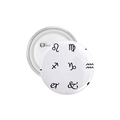 Set Of Black Web Dings On White Background Abstract Symbols 1 75  Buttons