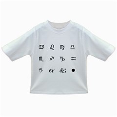 Set Of Black Web Dings On White Background Abstract Symbols Infant/Toddler T-Shirts