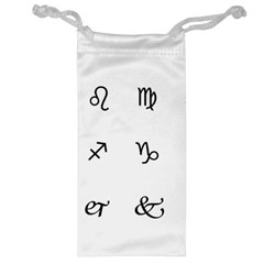 Set Of Black Web Dings On White Background Abstract Symbols Jewelry Bag