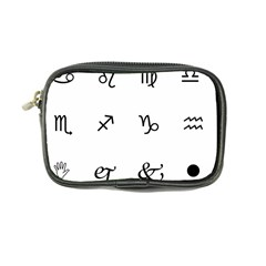 Set Of Black Web Dings On White Background Abstract Symbols Coin Purse