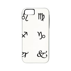 Set Of Black Web Dings On White Background Abstract Symbols Apple Iphone 5 Classic Hardshell Case (pc+silicone)