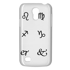 Set Of Black Web Dings On White Background Abstract Symbols Galaxy S4 Mini