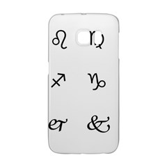 Set Of Black Web Dings On White Background Abstract Symbols Galaxy S6 Edge