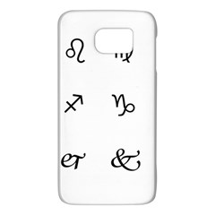 Set Of Black Web Dings On White Background Abstract Symbols Galaxy S6