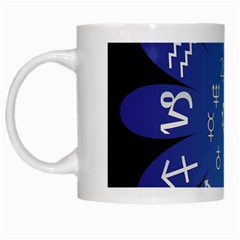 Astrology Birth Signs Chart White Mugs