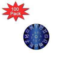 Astrology Birth Signs Chart 1  Mini Magnets (100 Pack)