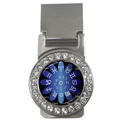 Astrology Birth Signs Chart Money Clips (cz)