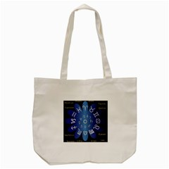 Astrology Birth Signs Chart Tote Bag (cream)