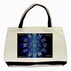 Astrology Birth Signs Chart Basic Tote Bag
