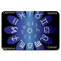 Astrology Birth Signs Chart Large Doormat