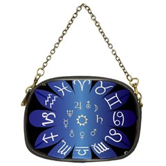Astrology Birth Signs Chart Chain Purses (two Sides)