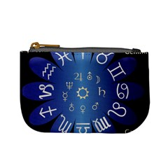 Astrology Birth Signs Chart Mini Coin Purses