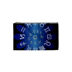 Astrology Birth Signs Chart Cosmetic Bag (Small)